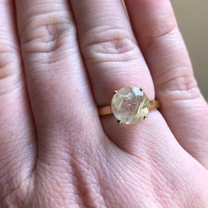 Jewelry - Rutilated quartz ring